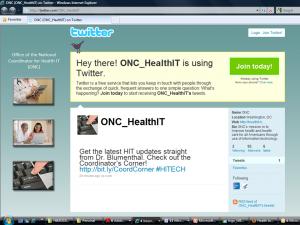 ONC Tweets