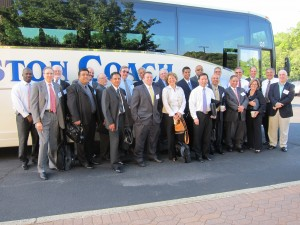 NJHIMSS ready to board bus,