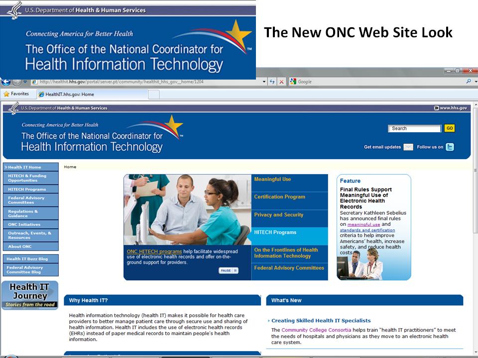 ONC Web 2.0